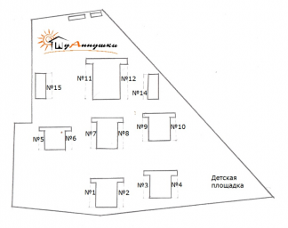 Схема базы отдыха